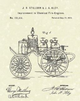 Fire Truck Patent Image