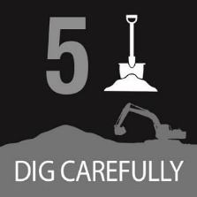 Fifth Step - Dig carefully