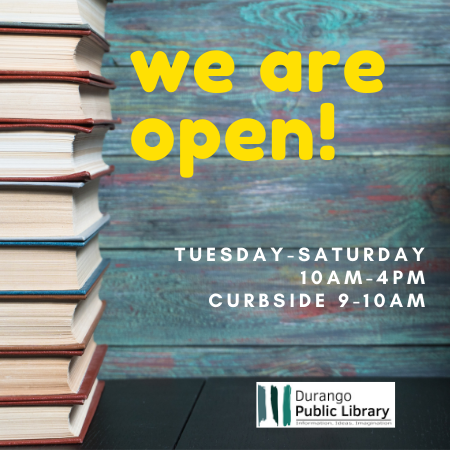 Library is Open Graphic