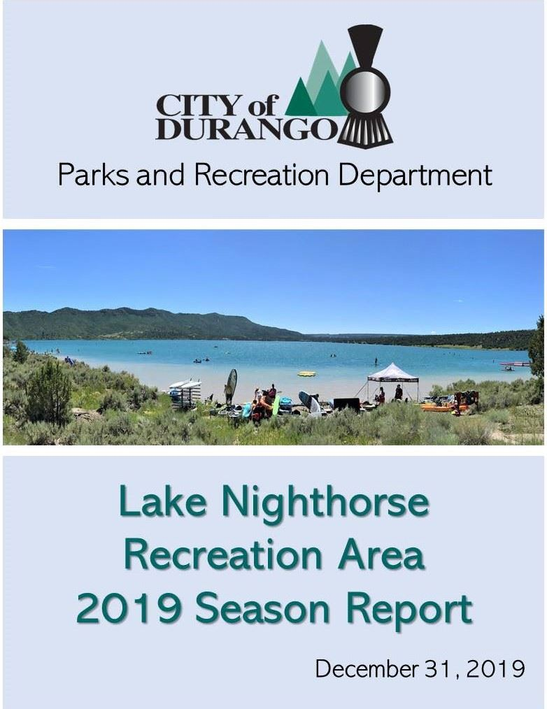 2019 Lake Nighthorse Season Report_cover Opens in new window