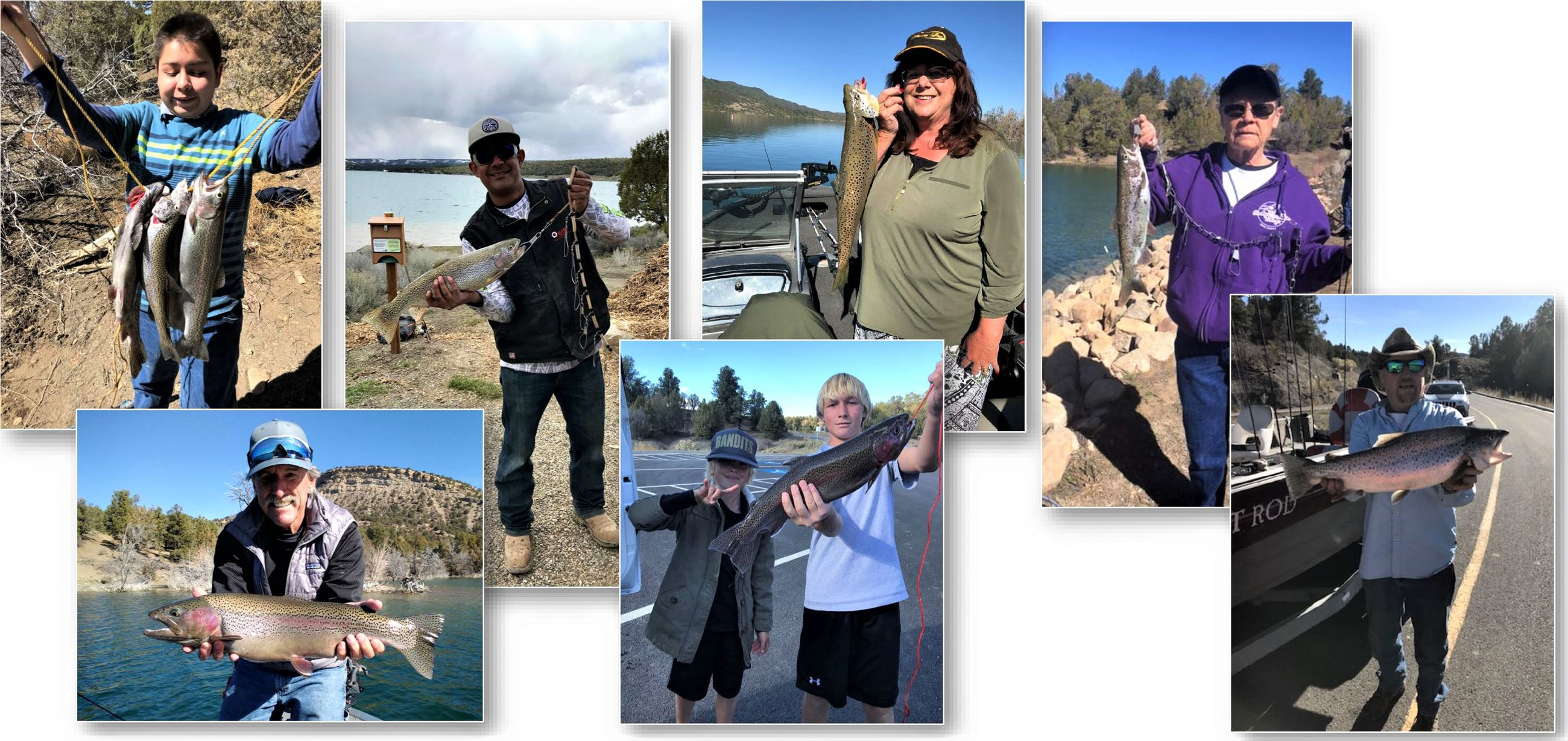 Fishing Pic Collage